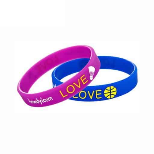 BADGES & WRISTBANDS VPGB0002 – Printed Silicone Wristband
