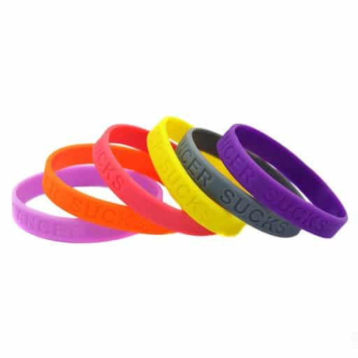 VPGB0004 - Debossed Silicone Wristband