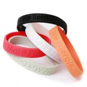 VPGB0004 – Debossed Silicone Wristband
