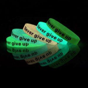 VPGB0007 – Glow in Dark Silicone Wristband