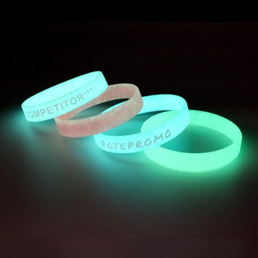 BADGES & WRISTBANDS VPGB0007 – Glow in Dark Silicone Wristband