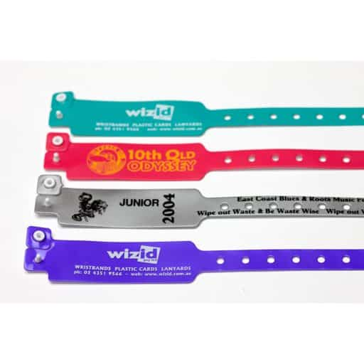 BADGES & WRISTBANDS VPGB0009 – PVC Wristband (One-Time-Use)