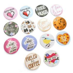 VPGB0001 – Button Badge