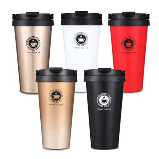 VPGM0005 - Portable Stainless Steel Thermos Coffee Mug