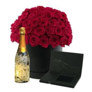 FVL000001 Rose Wine with LCD