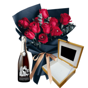 FVL000003 Rose Wine with LCD